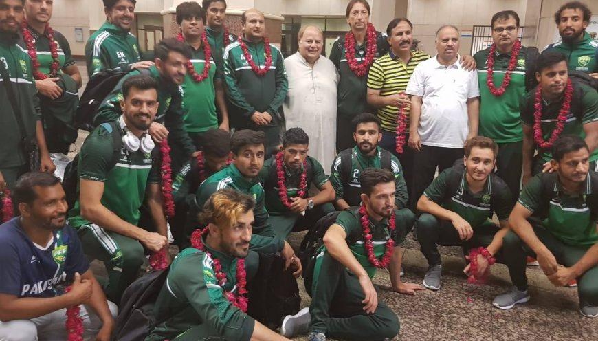 Após bom desempenho no Saff Suzuki Cup, Equipe Nacional do Paquistão retorna para Lahore