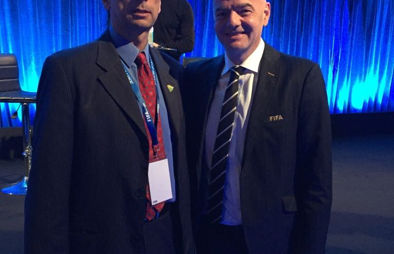 Nogueira participa de Congresso de Futebol da FIFA em Londres